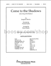 Come to the Shadows (from Song of the Shadows) - orchestra (score & parts)