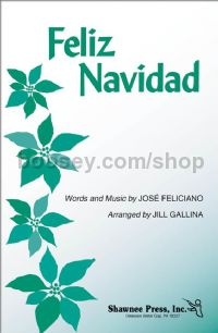 Feliz Navidad for 3-part mixed choir