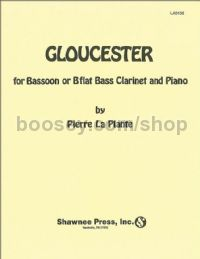 Gloucester Bassoon (or B Flat Bass Clarinet)/Piano for bassoon (or bass clarinet) & piano