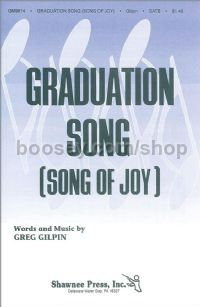Graduation Song (Song of Joy) for SATB choir