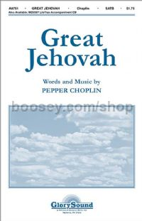 Great Jehovah for SATB choir