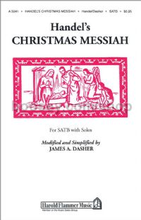 Handel's Christmas Messiah for SATB choir