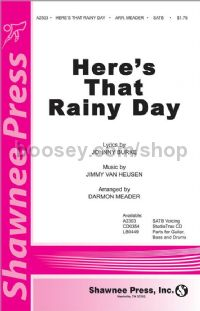 Here's that Rainy Day for SATB choir