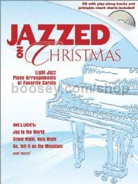 Jazzed on Christmas  for piano (+ CD)