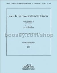 Jesus is the Sweetest Name I Know - guitar, bass & drums (set of parts)
