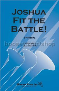 Joshua Fit the Battle! for 2-part mixed choir
