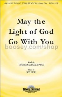 May the Light of God Go with You for SATB choir