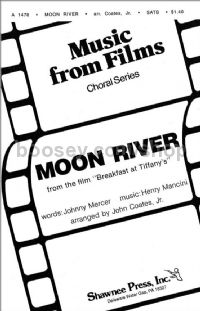 Moon River for SATB choir