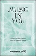 Music in You for SATB choir