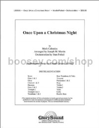 Once Upon a Christmas Night - orchestration (score & parts)