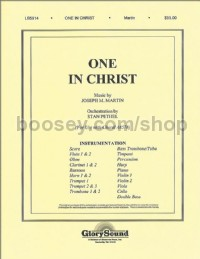One in Christ - orchestration (score & parts)