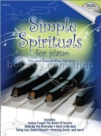 Simple Spirituals for Piano for piano (+ CD)