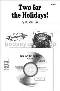 Two for the Holidays (CD only)