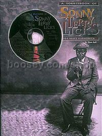 Sonny Terry Licks Sourcebk Blues Harmonica (Book & CD)