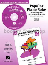 Hal Leonard Student Piano Library: Popular Piano Solos For All Methods 2 (CD)