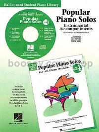 Hal Leonard Student Piano Library: Popular Piano Solos For All Methods 4 (CD)