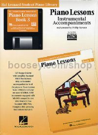 Hal Leonard Student Piano Library: Piano Lessons Instrumental Accompaniments 3 (General MIDI)