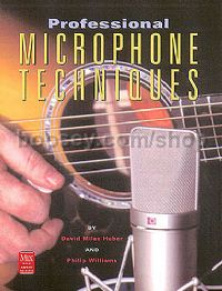 Professional Microphone Techniques (Book & CD)