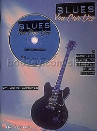 Blues You Can Use Inc (Guitar Tablature) (Book & CD)