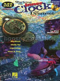 Working The Inner Clock For Drumset (Book & CD)