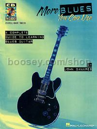 More Blues You Can Use Ganapes (Guitar Tablature) (Book & CD)