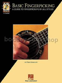 Basic Fingerpicking Sokolow (Book & CD)