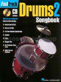 Fast Track Drums 2 Songbook (Book & CD)
