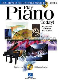 Play Piano Today level 2 (Book & CD)