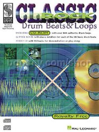 Classic Rock Drum Beats & Loops (Book & CD)-Rom