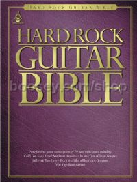 Hard Rock Guitar Bible (Guitar Tablature)