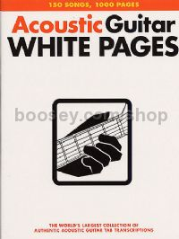 White Pages Acoustic (Guitar Tablature)