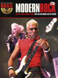 Bass Play-Along vol.4: Modern Rock (Book & CD)