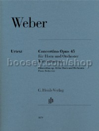 Concertino op. 45 (Horn & Orchestra)