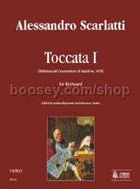 Toccata I (Biblioteca del Conservatorio di Napoli ms. 9478) for Keyboard