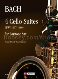 4 Cello Suites BWV1007-1010 (Baritone Saxophone)