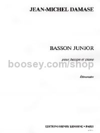 Basson junior - bassoon & piano