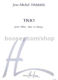 Trio - flute, viola & harp (set of parts)