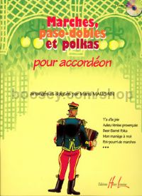 Marches, paso-dobles & polkas - accordion (+ CD)