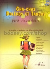 Cha-chas, Tangos & Boleros - accordion (+ CD)