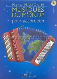 Musiques du Monde - accordion (+ CD)