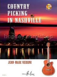 Country Picking in Nashville - guitar (+ CD)