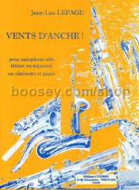 Vents d'anche! - alto (or tenor/soprano) saxophone (or clarinet) & piano