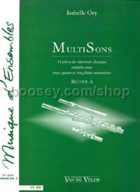 MultiSons Vol.A - flute ensemble (3-5 flutes) (set of parts)