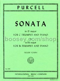 Trumpet Sonata in D for Trumpet & Piano (Bb/C Editions)
