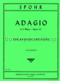Adagio in F Op. 115 for Bassoon & Piano