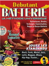 Debutant Batterie (Book & CD)