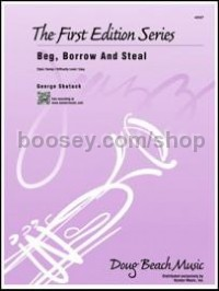 Beg, Borrow and Steal (Jazz Ensemble Score & Parts)
