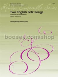 Two English Folk Songs - Saxophone Quartet (Score & Parts)