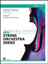 Anvil Chorus (from Il Trovatore) (String Orchestra)