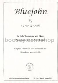 Bluejohn for trombone & piano